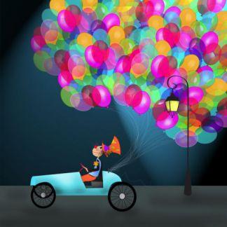 Фигура из воздушных шаров в тематике вашего праздника несомненно